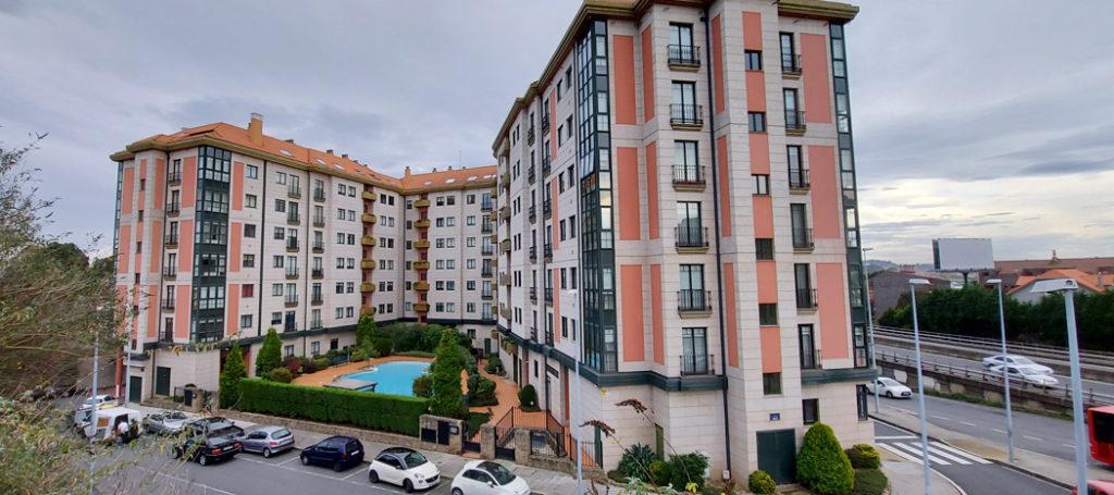 Venta pisos bahía pasaje Coruña