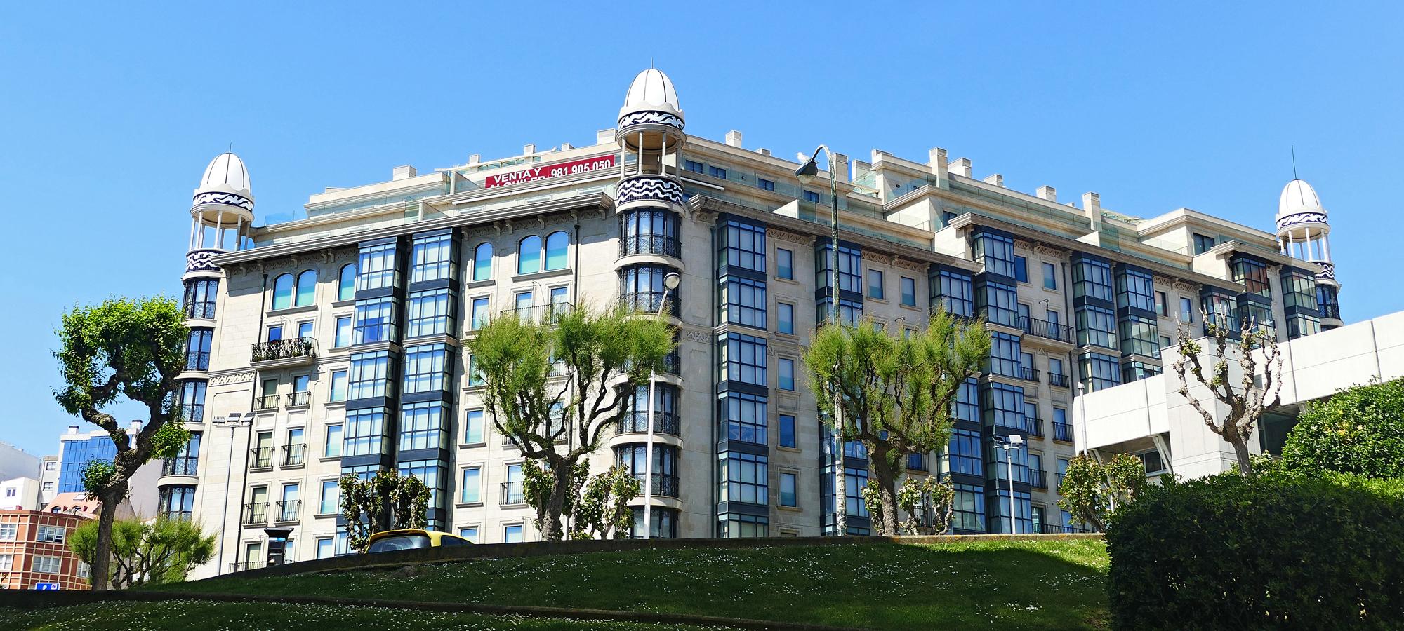 Venta de pisos Coruña edificio Citania